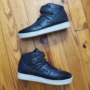 Mens Retro Fila High Top Basketball Sneakers Shoes